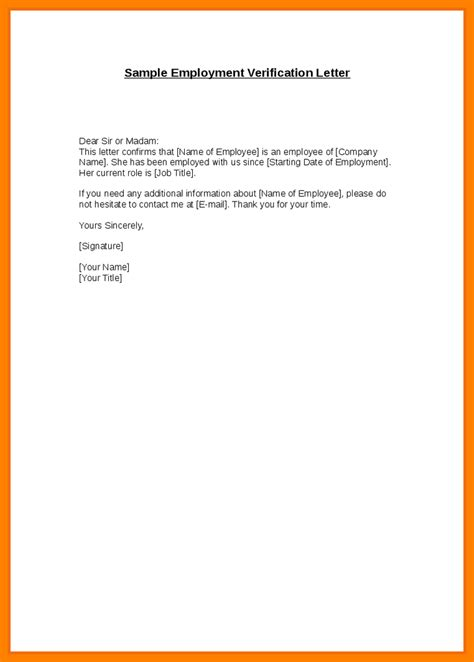employment confirmation letter template  planner