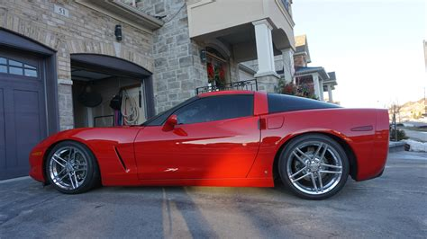 fs  sale  chevrolet corvette  supercharged