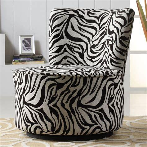 tribecca home moda black white zebra print modern