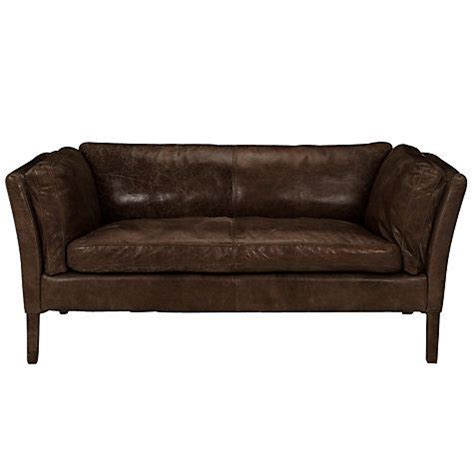 small leather settee halo groucho small aniline leather sofa halo leather