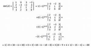 Determinante 4x4 Matrix Berechnen : determinante de una matriz regla de sarrus desarrollo de laplace operaciones con matrices ~ Themetempest.com Abrechnung