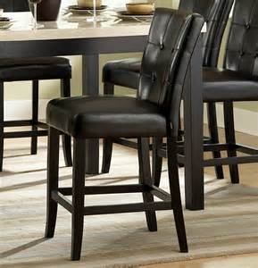 counter height dining room sets homelegance archstone 7 counter height dining room set w black chairs beyond stores