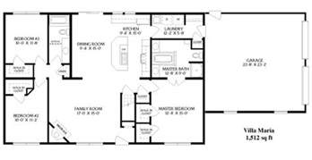 ranch house plans open floor plan simple open ranch floor plans style villa house