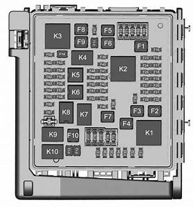 Chevrolet Traverse  2018   U2013 Fuse Box Diagram