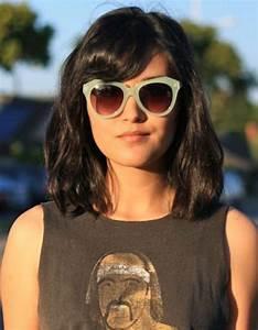 Coupe Cheveux Tete Ronde : coiffure visage rond lunettes 40 coiffures canon pour les visages ronds elle ~ Melissatoandfro.com Idées de Décoration