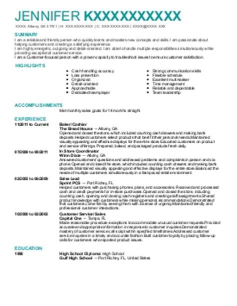 customer service associate resume exle lowes