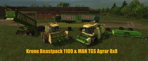 krone bigx  beastpack   beta fs farming