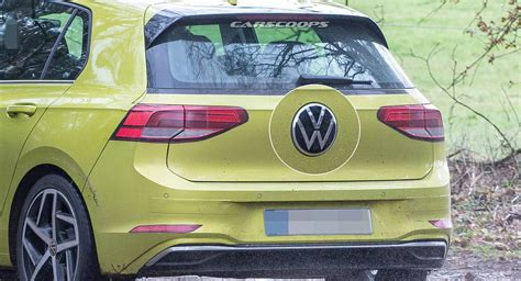 golf mk hides  volkswagen logo  plain sight