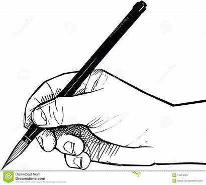 Hand Drawing Clipart Brush Chinese Sketch Hands