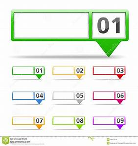 Map Markers With Numbers Vector Illustration ...