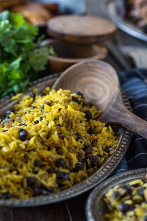 yellow rice and beans yellow rice and beans go go go gourmet