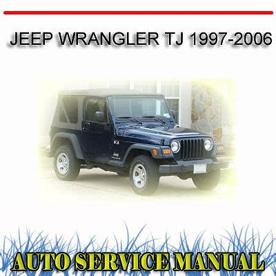 service repair manual free download 1997 jeep wrangler electronic toll collection jeep wrangler tj 1997 2006 service repair manual dvd ebay