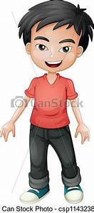 Asian Male Clipart