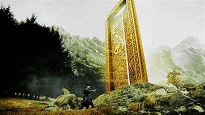Valhalla Ragnar Vikings Lothbrok Gates Norse Magnus