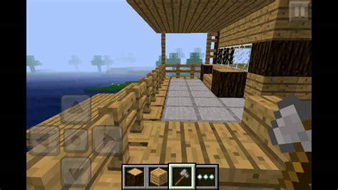 minecraft pe house floor plans minecraft pe wooden house design