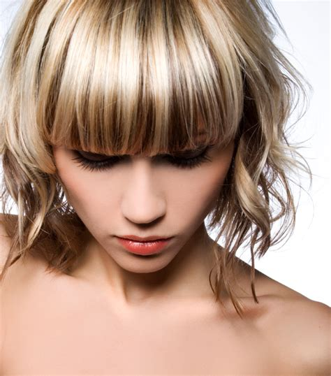 chunky highlights hairstyles pictures slideshow