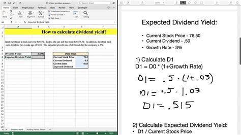 Div Yield Calculation div yield calculation bellissima casa elbovocero