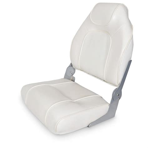 Back To Back Boat Seats For Sale Canada by Hi Back Fishing Boat Seat 640168 Fold Down Seats At