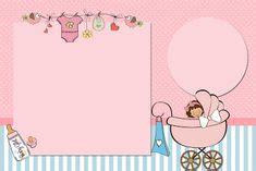 baby shower border templates baby boy background