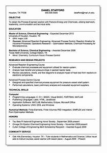 parsons energy and chemical engineer resume sample http With chemical engineering internship resume samples