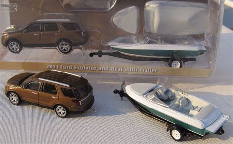 Rc Fishing Boat Cabela S by Greenlight Hitch Tow Series 4 2013 Ford Explorer Boat