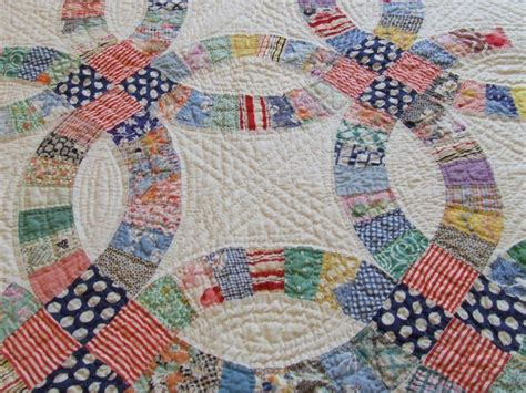 hand quilting patterns for double wedding ring free