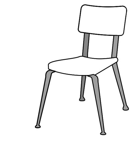 chair outline clipart 13