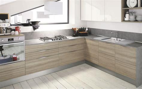 cuisine en cuisine moderne bois clair le bois chez vous
