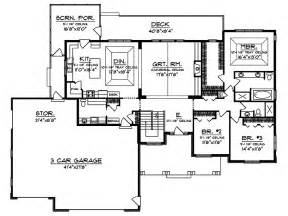 craftsman homes floor plans branhill craftsman style home plan 051d 0664 house plans and more