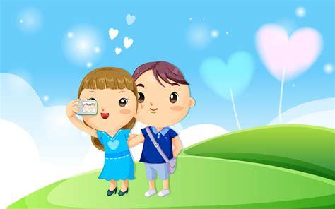 gambar kartun romantis  lucu lengkap terbaru kumpulan