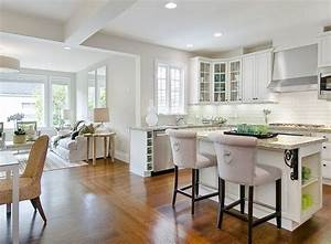 tamara mack design kitchens u shaped kitchen open With kitchen design open floor plan