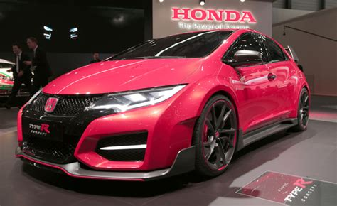 Honda Civic Type R Concept Blows Turbocharged Raspberry At