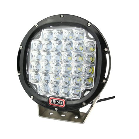 6 inch round led offroad lights 9 inch 185w cree led driving light 4x4 12v 24v round 37x5w