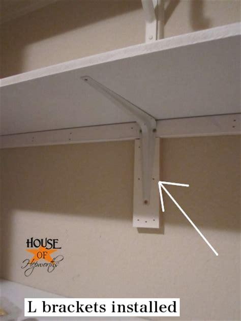 how to put up a shelf how to install shelves in a closet