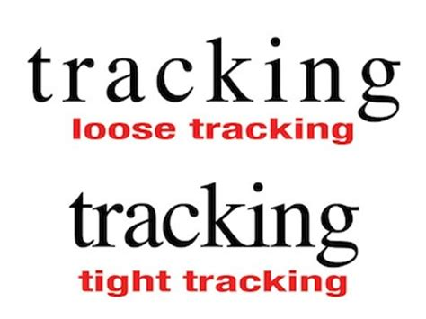 tracking video typography essentials