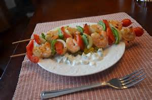 Tropical Shrimp Kabobs Recipe
