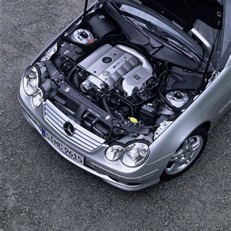 Only the engine changed because the perfromance figures where exact the same on paper. Mercedes-Benz C30 CDI AMG diesel