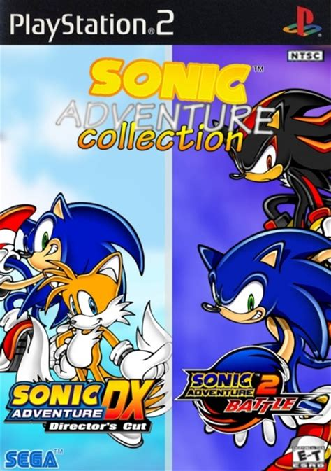 sonic adventure collection playstation  box art cover
