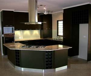 New home designs latest modern kitchen cabinets designs for Modern kitchen design ideas