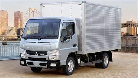 mitsubishi fuso mitsubishi fuso canter downsizes car news carsguide