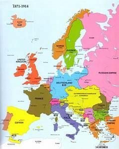 Mapa de Europa Imagen - Carte Espagne Ville Région politiques