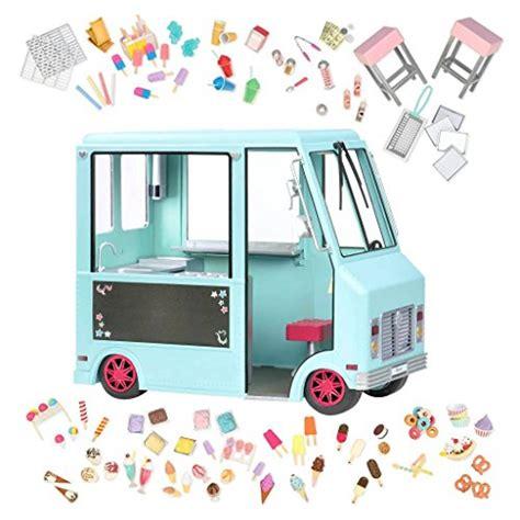 generation dolls sweet stop ice cream truck  dolls