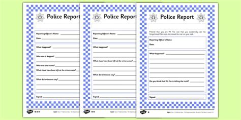 gingerbread man police report differentiated worksheet