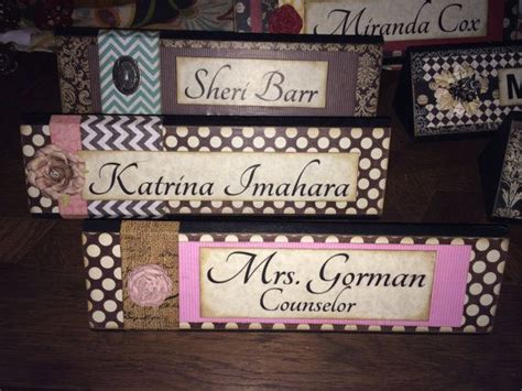cool desk name plates 1000 ideas about name plates on name