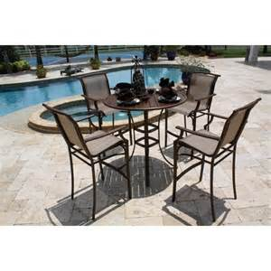 chub cay 5 sling bar height patio dining f target