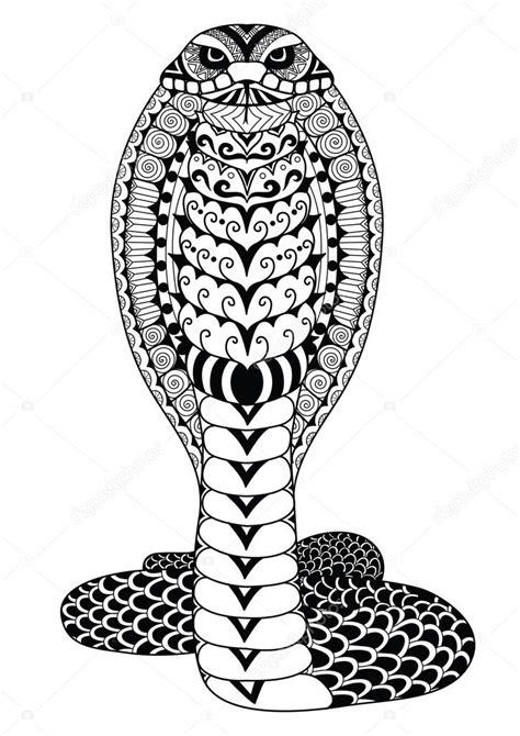 Cobra Slang Kleurplaat by Kleurplaat Cobra Slang