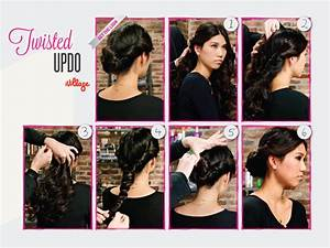 DIY Hairstyles: Easy Step-by-Step Hair Tutorials: Twisted ...