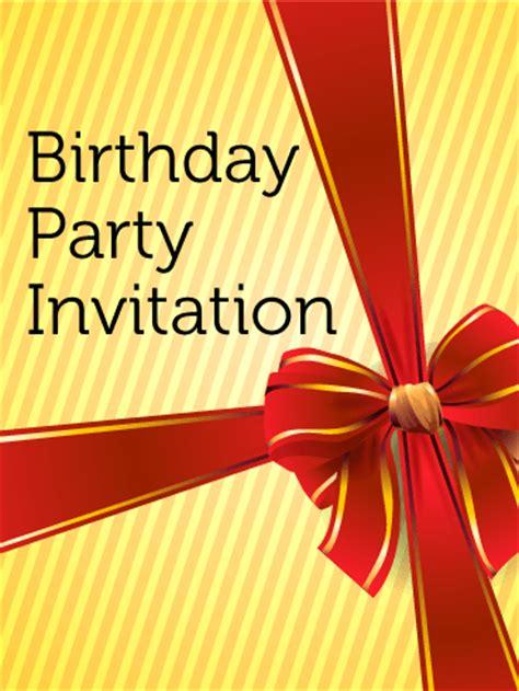birthday party invitation card birthday greeting cards