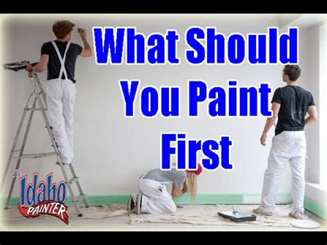 paint trim or walls first interior interior painting tips what to paint first when painting