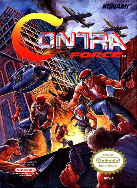 Contra Force Box Shot For Nes Gamefaqs